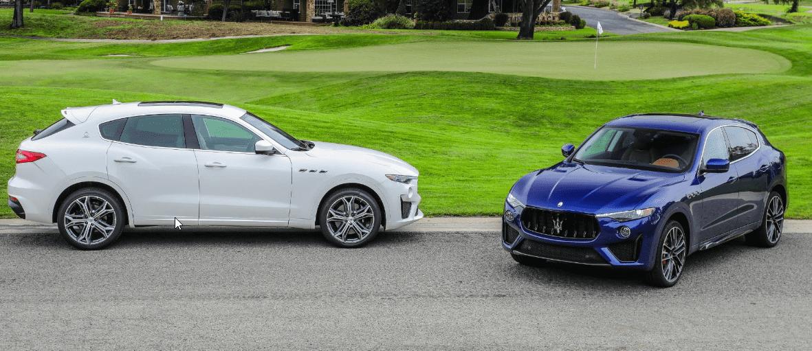 Maserati protagoniza la Monterey Car Week 2018 con los Levante de motor V8 en versión GTS y Trofeo