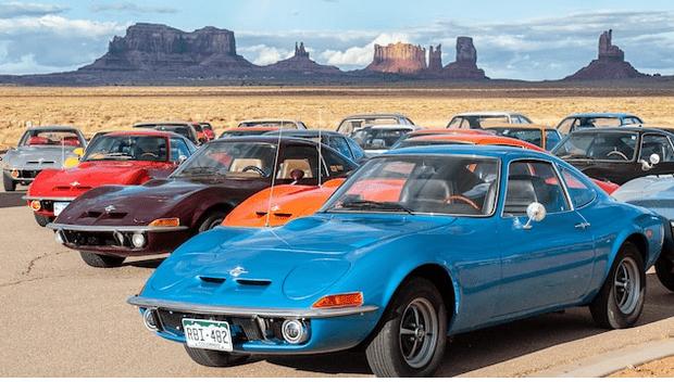 50 años Opel GT: Tour de aniversario a lo largo de la legendaria Ruta 66