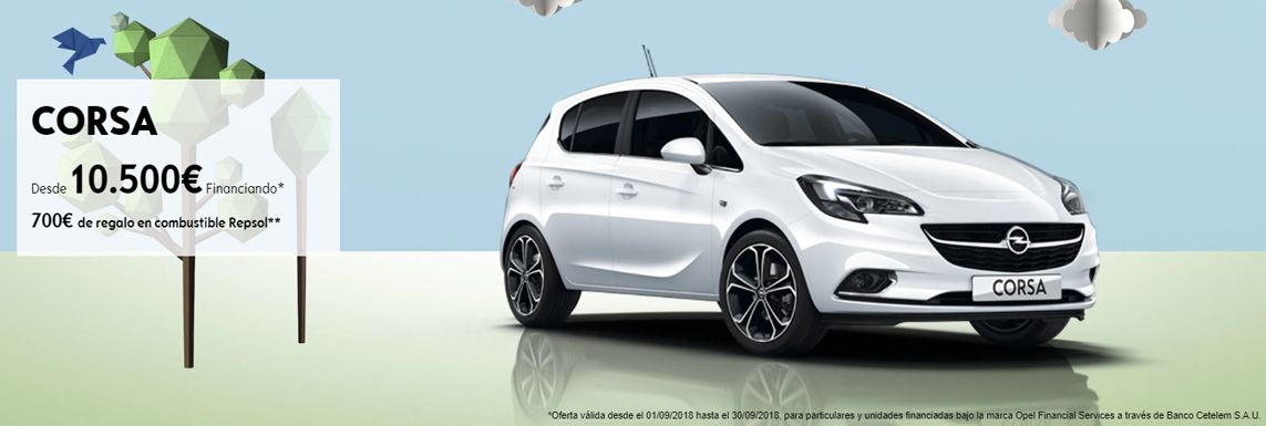 [Opel] CORSA Header