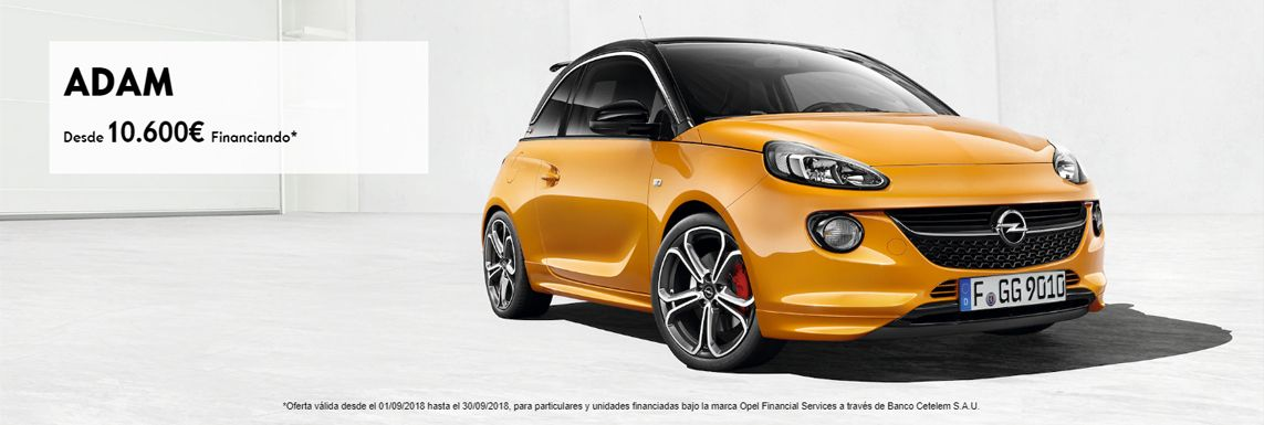 [Opel] ADAM Header