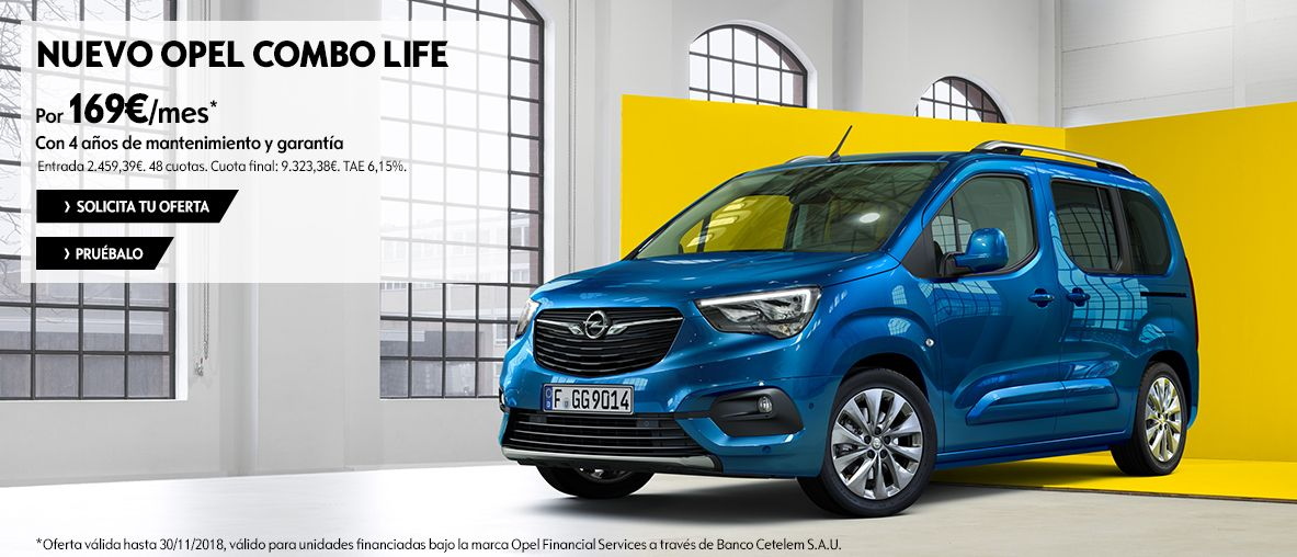 Nuevo Opel Combo Life, hechos, no palabras