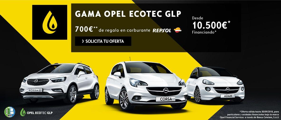 Gama Opel Ecotec GLP
