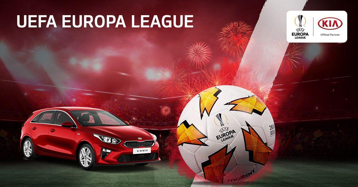 """KIA SE ESTRENA EN LA """"UEFA EUROPA LEAGUE"""" QUE DA COMIENZO HOY"""