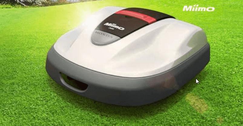 Miimo: cómo se diseñó el robot cortacésped de Honda