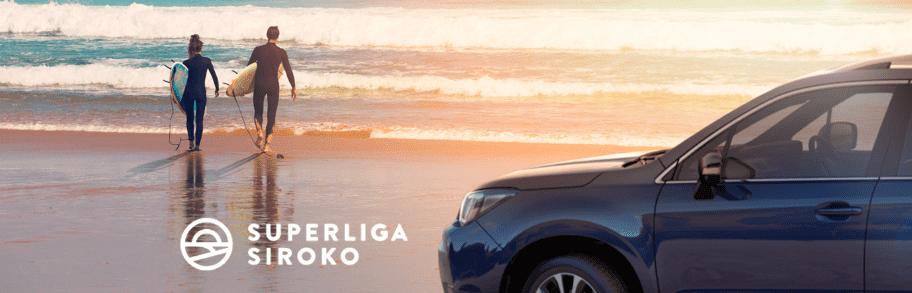 Subaru, vehículo oficial de los mejores surfistas de España en la Superliga Siroko