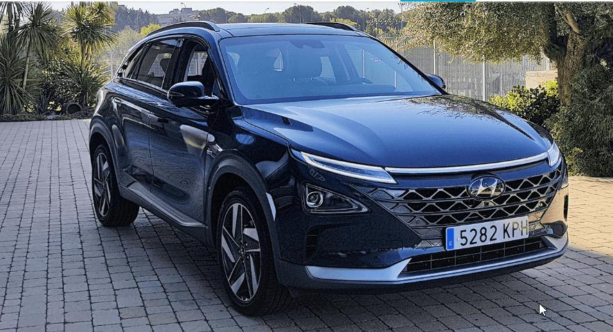 NEXO, primer coche de pila de hidrogeno matriculado en España