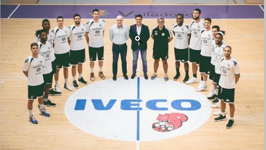 IVECO amplía su compromiso con el CBC Valladolid para esta temporada