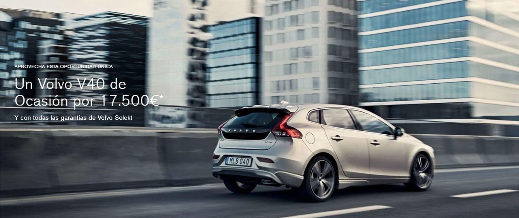 Un Volvo V40 de Ocasión por 17.500€*