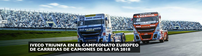 IVECO TRIUNFA EN EL CAMPEONATO EUROPEO DE CARRERAS DE CAMIONES DE LA FIA 2018