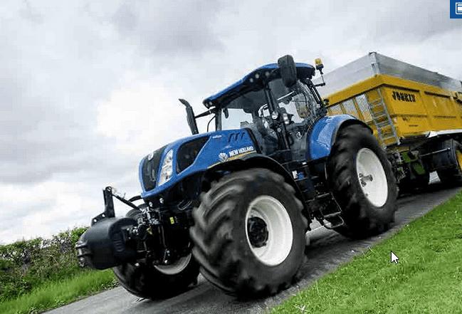 New Holland T7: Viragem para um novo nível de controlo e conforto