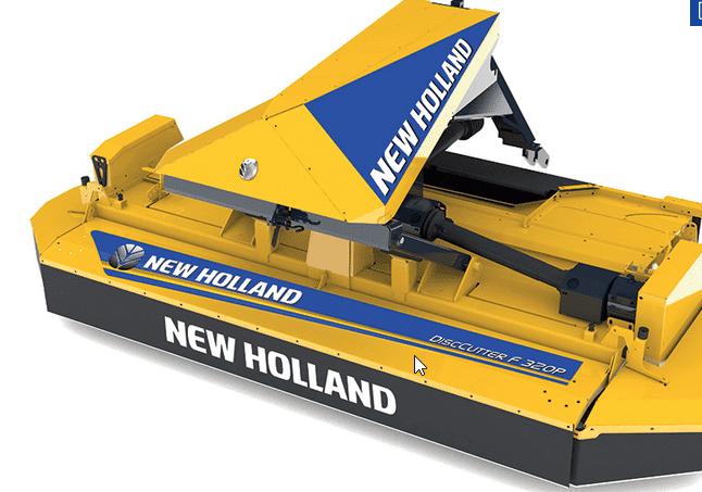 A New Holland apresenta uma selecção da sua nova oferta de alfaias agrícolas na Agritechnica 2017