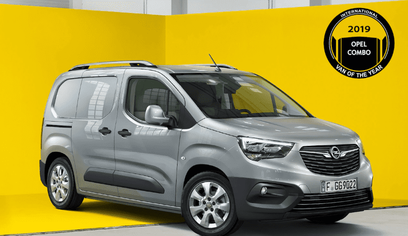 "El nuevo Opel Combo elegido ""International Van of The Year"" 2019"