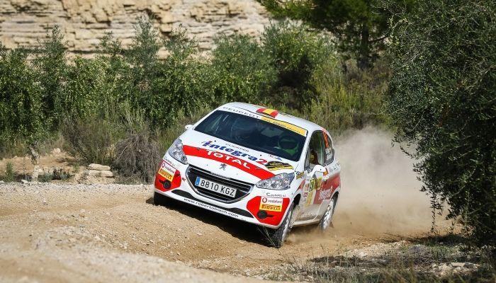 Trabajada victoria de Pedro Antunes/Paulo Lopes en el Rally de Catalunya
