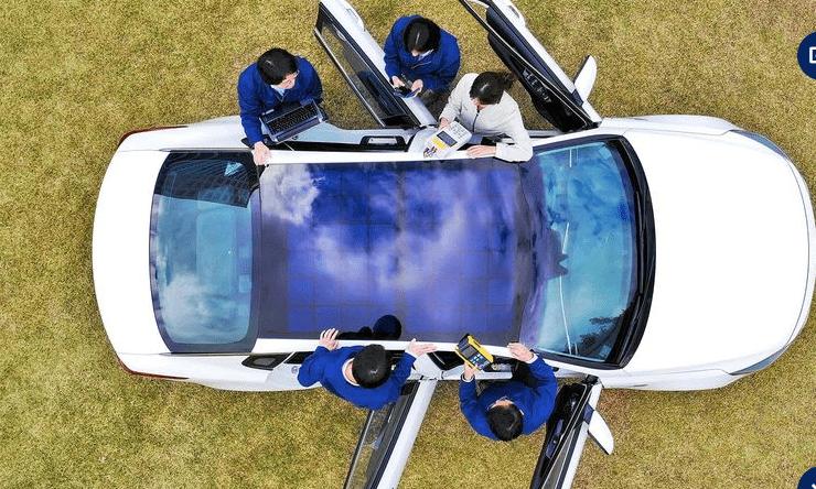 Hyundai Motor Group revela una tecnología de sistema de carga solar