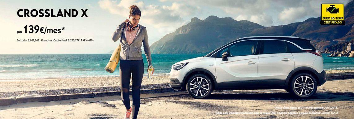 [Opel] CROSSLAND X Header