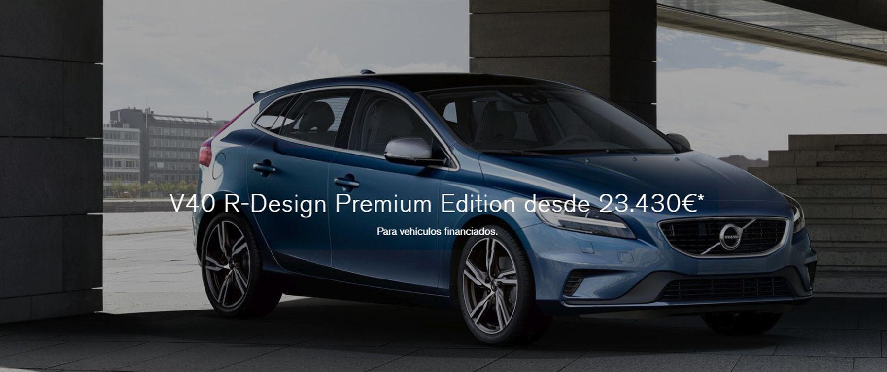 V40 T3 R-Design ahora desde 23.430€