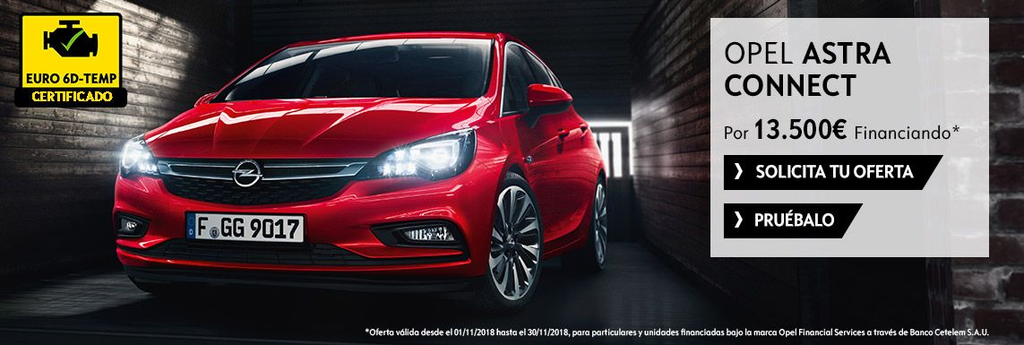 [Opel] ASTRA CONNECT Header