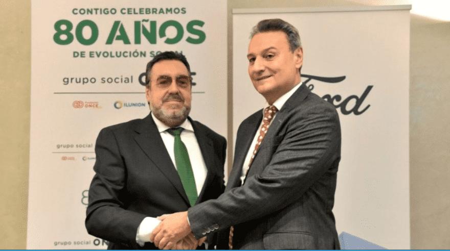FORD ESPAÑA RENUEVA EL COMPROMISO CON FUNDACIÓN ONCE Y CONTRATARÁ 40 PERSONAS CON DISCAPACIDAD EN CUATRO AÑOS