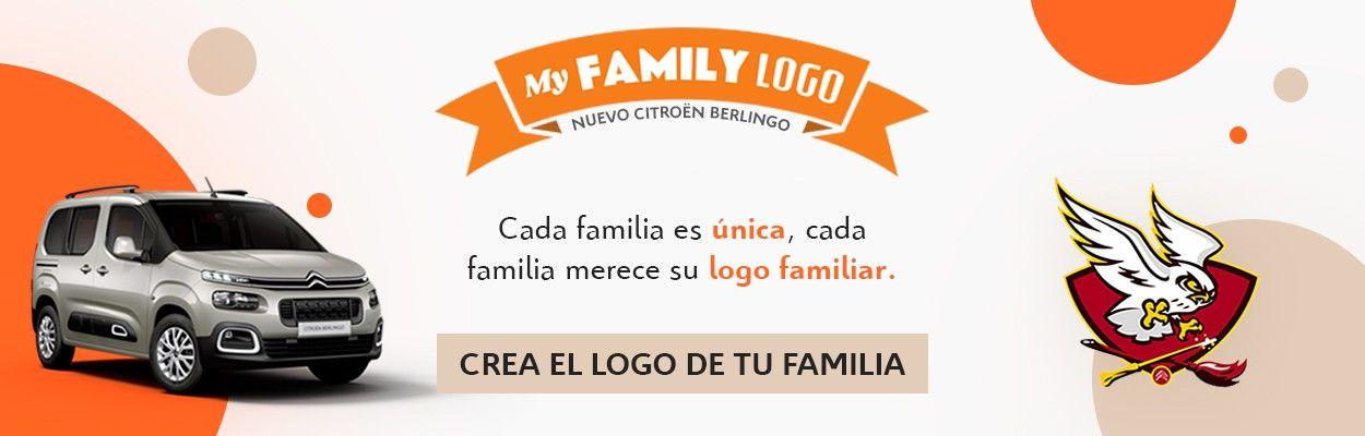 CITROËN CREA EL LOGO DE TU FAMILIA