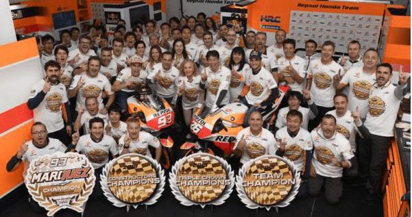 Pedrosa se despide del MotoGP con la triple corona para Honda; victoria de Guerrieri en el WTCR de Macao