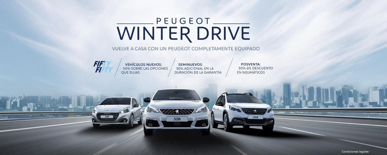 PEUGEOT WINTER DRIVE COMPLETAMENTE EQUIPADO.