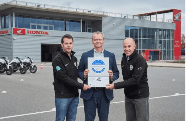 El Honda Instituto de Seguridad, galardonado con el Sello Europeo de Calidad de Formación