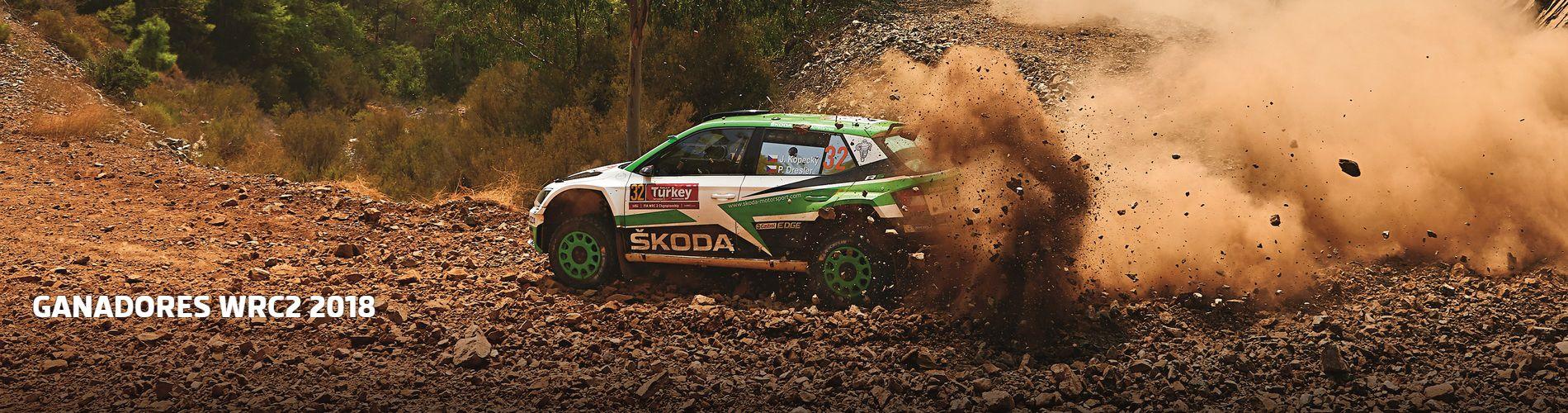 GANADORES WRC2 2018
