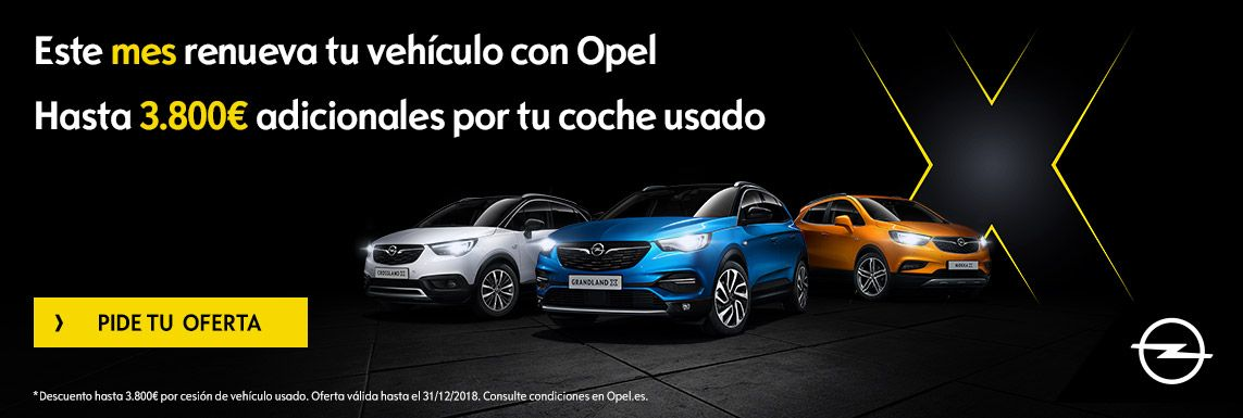 [Opel] Renuevate con Opel Header