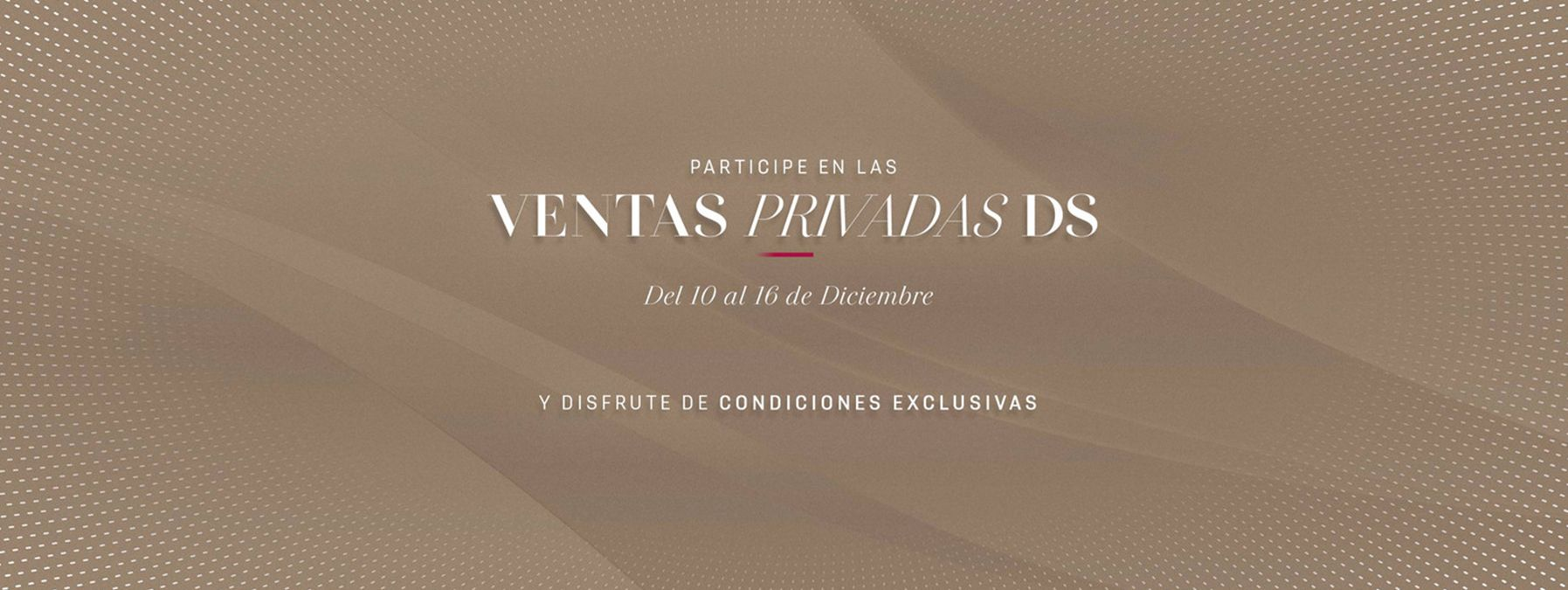VENTAS PRIVADAS DS