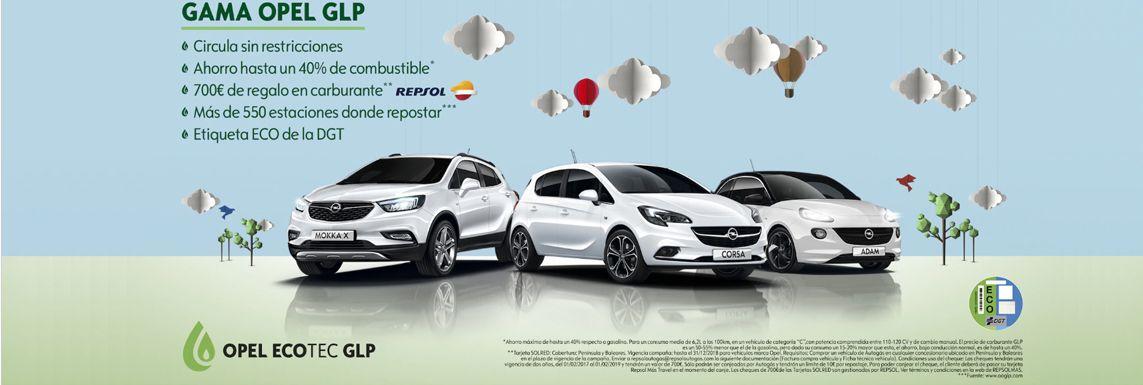 [Opel] GAMA OPEL GLP Header
