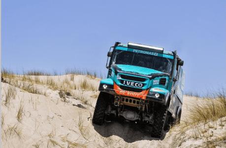 El equipo Petronas De Rooy IVECO está listo para competir en el Dakar 2019, el rally más duro del mundo