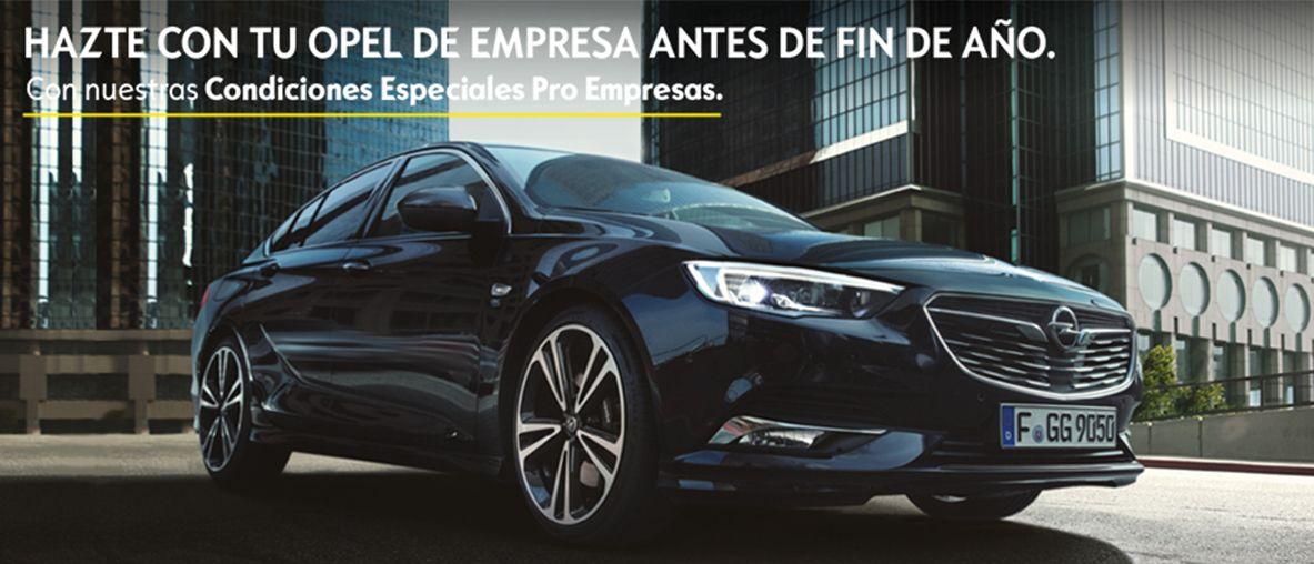 Tu Opel de empresa antes de fin de año, condiciones especiales Pro Empresas.