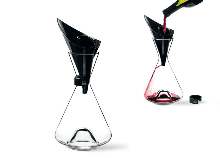 La cristalería fina de Peugeot, al servicio del buen vino y los mejores espirituosos