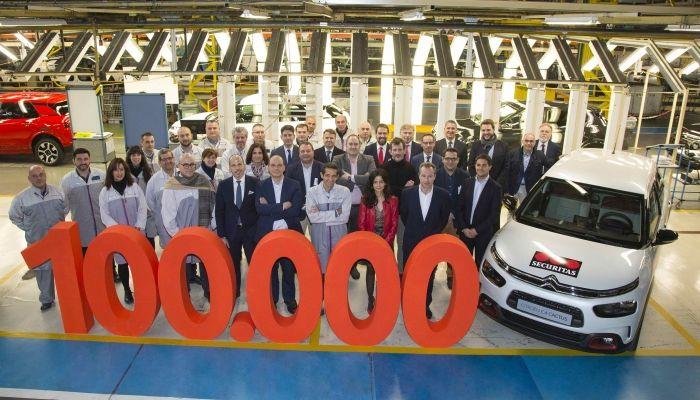 CITROËN SUPERA LAS 100.000 MATRICULACIONES EN ESPAÑA, EN 2018