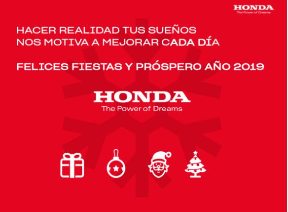 ¡Desde Honda deseamos que vuestros sueños se hagan realidad!