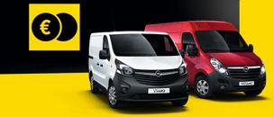 [Opel] GAMA VEHÍCULOS COMERCIALES List