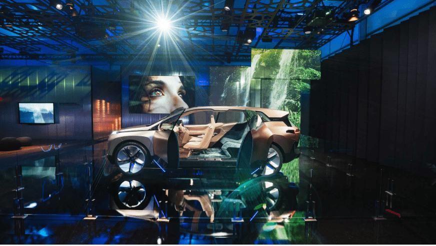 BMW Group en el 2019 Consumer Electronics Show (CES) en Las Vegas.