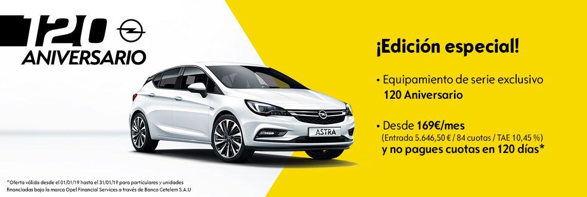 [Opel] Astra 120 aniversario Header
