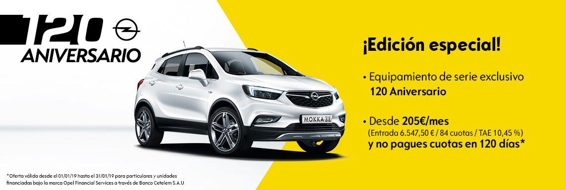 [Opel] MOKKA X 120 ANIVERSARIO Header