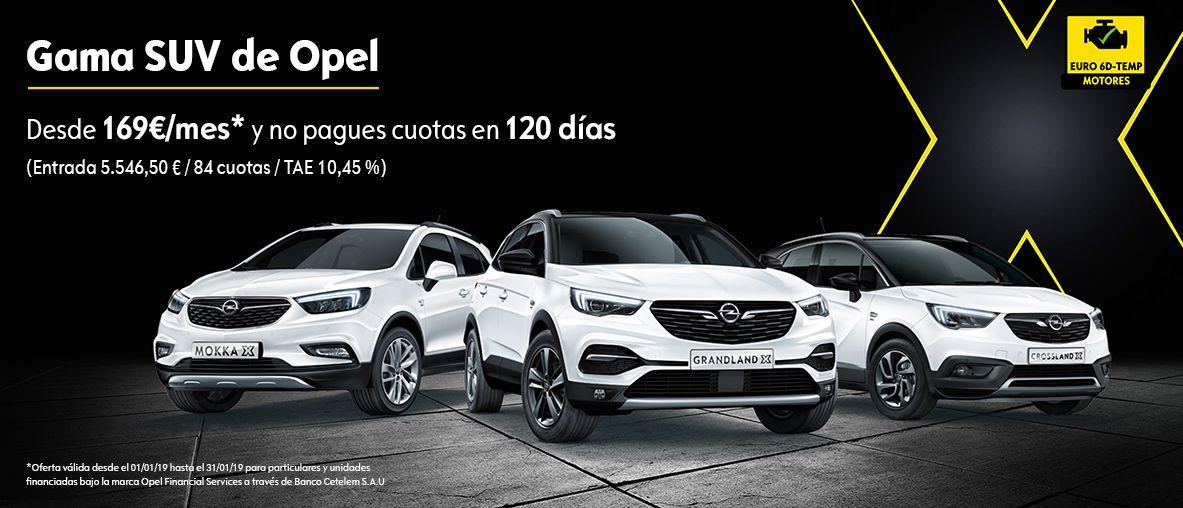 Gama SUV 120 Aniversario desde 120€/mes