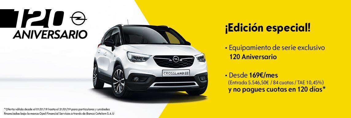 [Opel] CROSSLAND X 120A ANIVERSARIO Header