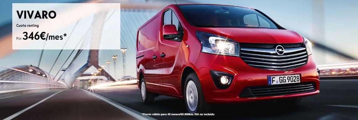 [Opel] OFERTA ESPECIAL OPEL VIVARO Header