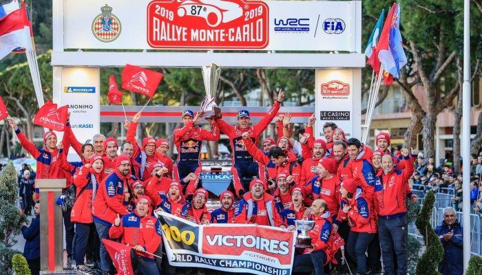 100ª VICTORIA DE CITROËN EN WRC CONSEGUIDA POR SEBASTIEN OGIER Y JULIEN INGRASSIA
