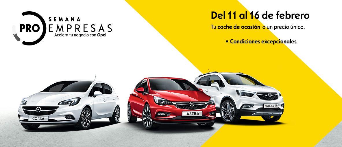 Semana ProEmpresas de Opel VO