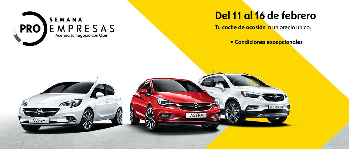 Semana ProEmpresas de Opel VO.