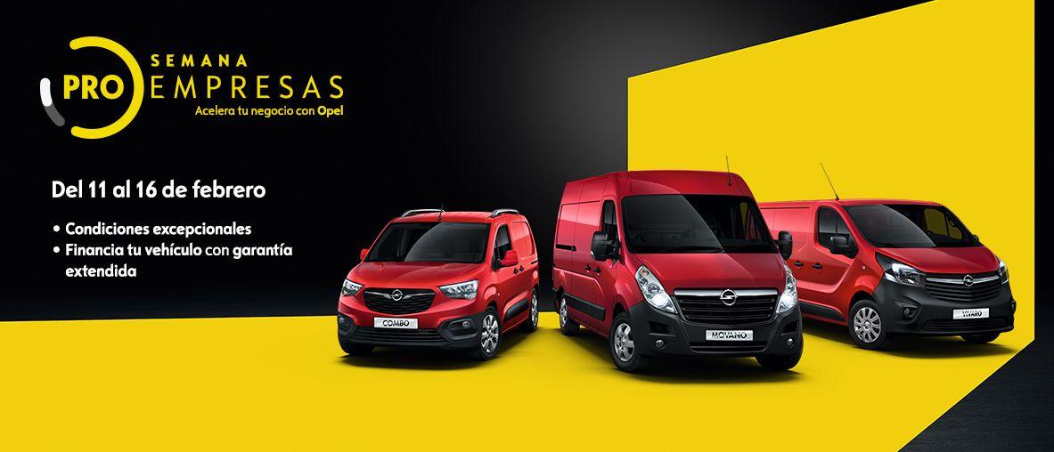 Semana ProEmpresas de Opel comerciales.
