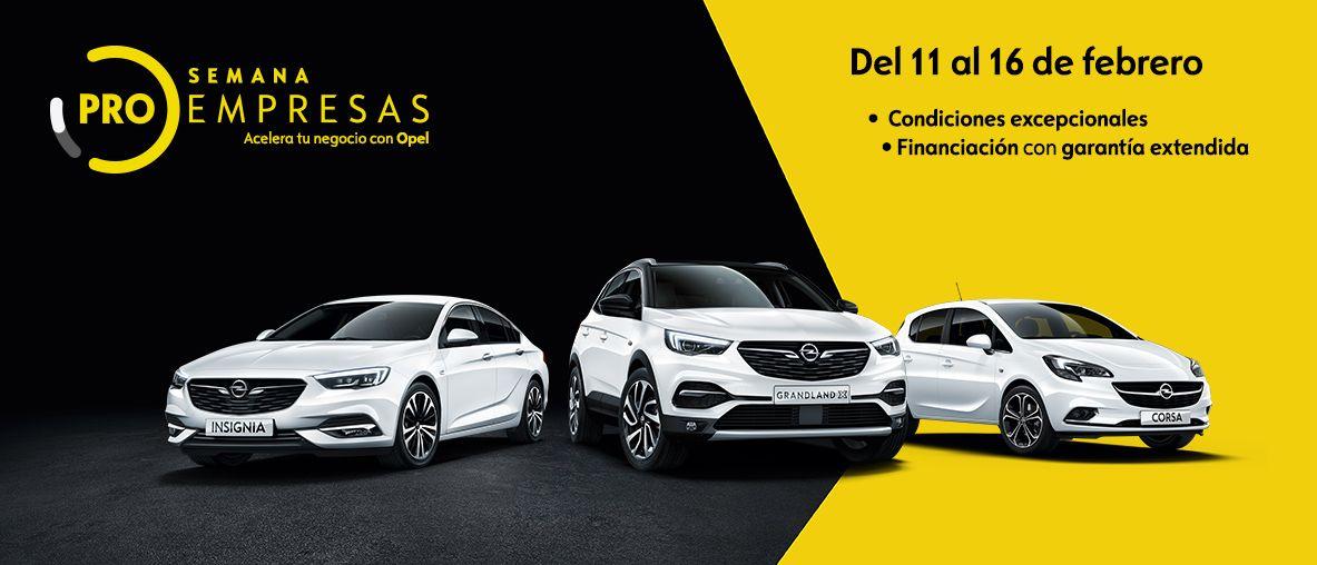 Semana ProEmpresas de Opel turismos.