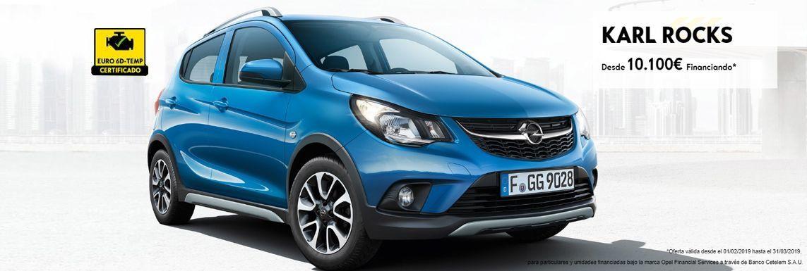 [Opel] KARL ROCKS Header