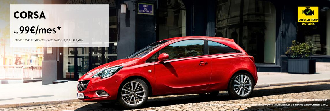 [Opel] Opel Corsa Header