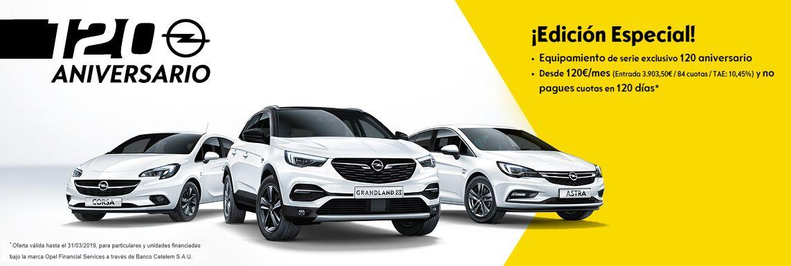 [Opel] OPEL 120 ANIVESARIO Header